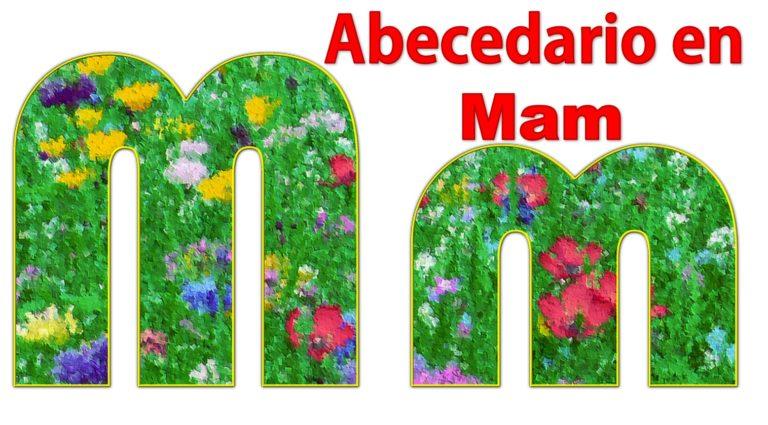 Abecedario en Mam con imágenes Alfabeto en Mam con imágenes