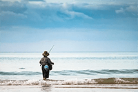 Pescador en kiche