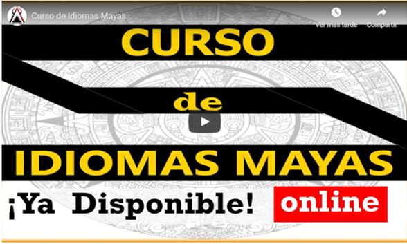 Curso de Idiomas Mayas en Internet