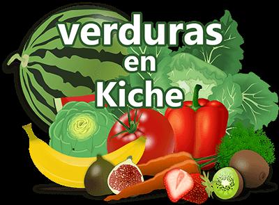 Verduras en kiche y español