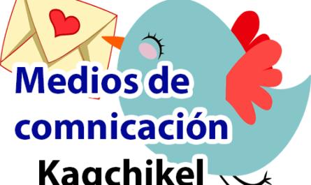 Medios de comunicación en kaqchikel y español