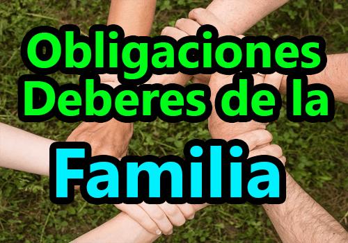 Obligaciones y deberes de la familia en kaqchikel y español