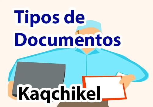 Tipos de documentos en Kaqchikel